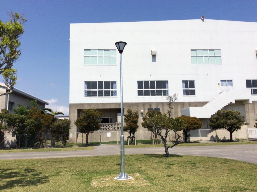 吉の浦公園照明灯機能整備工事01