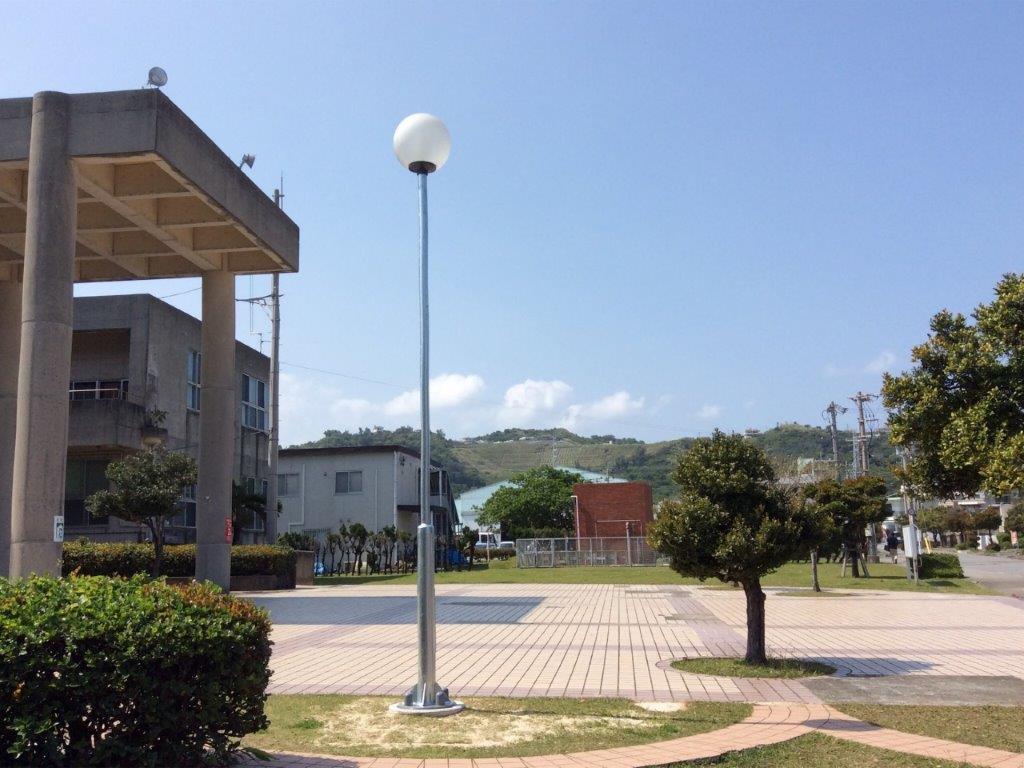 吉の浦公園照明灯機能整備工事04